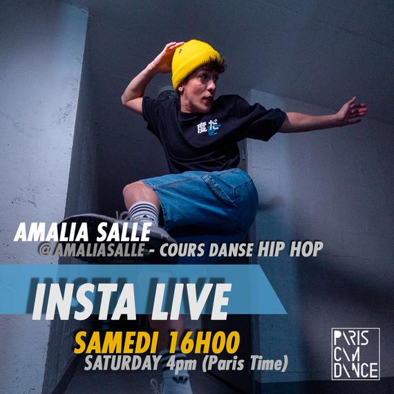AMALIA SALLE x FONDATION DES FEMMES