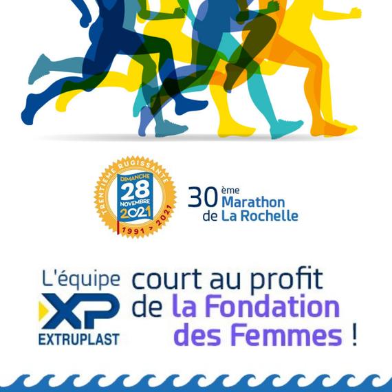 XP COURT POUR LA FONDATION DES FEMMES