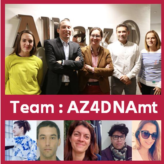 L'équipe AZ4DNAmt pour la Fondation des Femmes