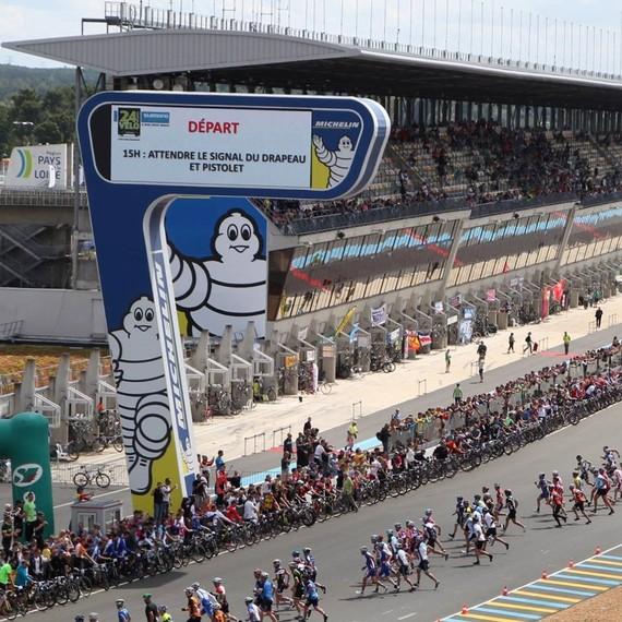 La Fondation des Femmes aux 24 Heures Du Mans Vélo